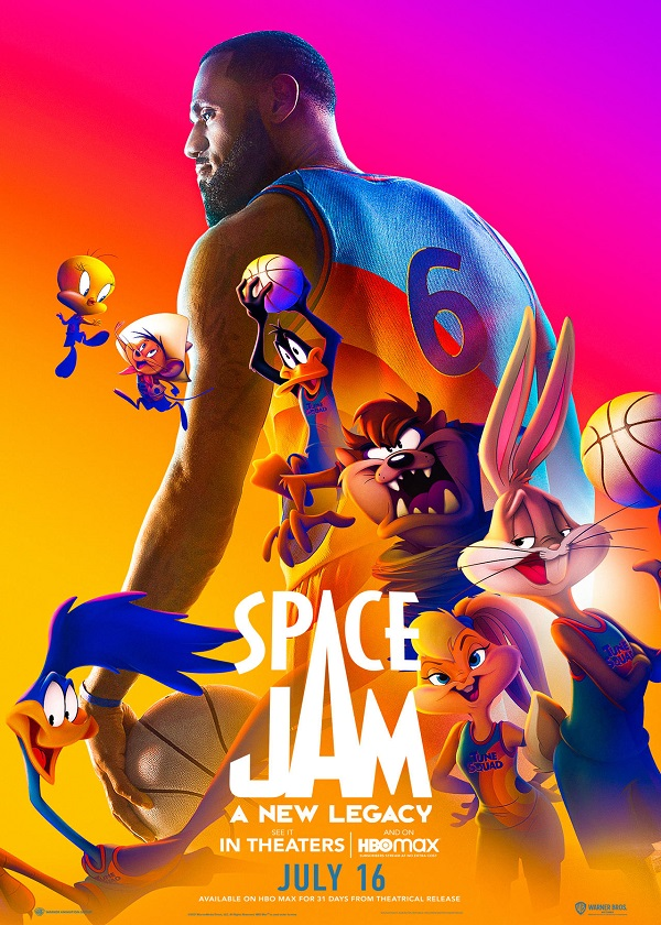 Watch English Movie Space Jam A New Legacy on CnTvShow